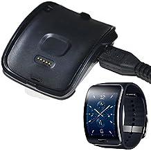 Malloom® Nueva carga para Samsung Gear S inteligente reloj SM-R750 cuna cargador del muelle + Cable USB