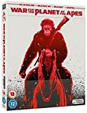 War for the Planet of the Apes - Limited Edition 4K Steelbook Blu-ray (Includes 3D, 2D & Digital Copy)