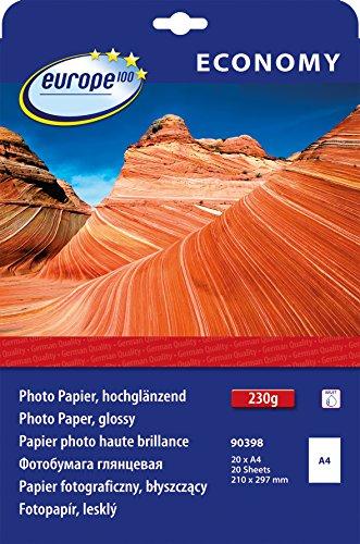 europe100-90398-fotopapier-a4-hochglanzend-230-g-m-20-blatt-weiss