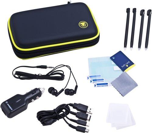 snakebyte - Nintendo DSi & DS lite - Travel Pack Reiseset, Zubehörset inkl. Autoladegerät für Nintendo DSi &  DS Lite (Kit Travel Nintendo Ds)