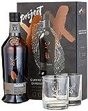 Glenfiddich Project XX mit Geschenkverpackung mit 2 Gläsern und schwarzem Salz (1 x 0.7 l)