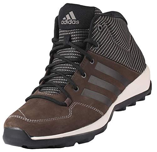 adidas Daroga Plus-Mid Lea Wanderschuh (45 1/3 EU, Brown/Black/Simple Brown)