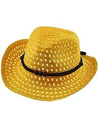 Sombrero De Paja Respirable Del Sombrero Del Sol Del Verano Del Niña Y Niño  AIMEE7 Sombrero De Sol De Gorra De Playa De Primavera… 1517d31c8b5