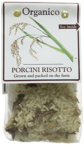 Organico Porcini Risotto Organic Ready Mix 250 g (Pack of 4)