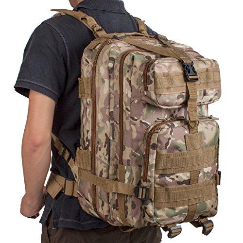 Imagen de  táctica, camtoa military army patrol ,  de senderismo  al aire libre moda bolsa de aire libre  de marcha  táctica  militar assault pack backpack. cp camouflage