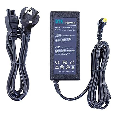 DTK Chargeur Adaptateur Secteur pour ACER: 19V 3,42A 65W Connecteurs: