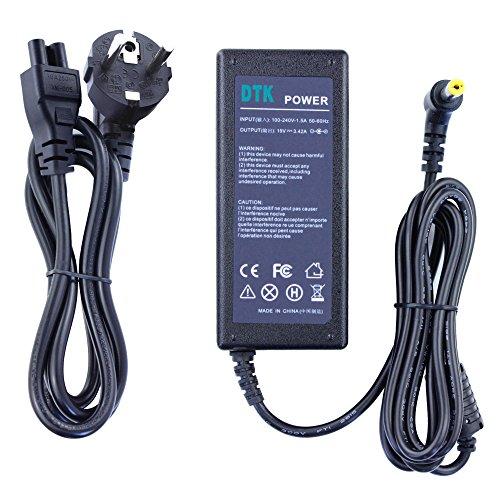 DTK® Notebook Laptop Ladegerät AC Netzteil für ACER high quality Output: 19V 3,42A 65W Netz Batterie-Stromversorgung Stecker: 5.5mm*1.7mm