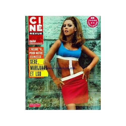 CINE REVUE [No 34] du 24/08/1967 - SEXE/ MARIJUANA ET L.S.D. - JOCELYN LANE - MARCELLO MASTROIANNI.