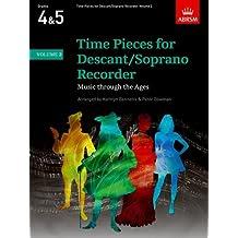 Time Pieces for Descant/Soprano Recorder