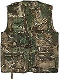 normani Outdoor Jagd- Angler Weste mit vielen praktischen Taschen? Farbe Hunting Camo Größe XL