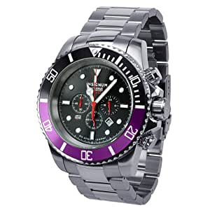 Insignum Men's Quartz Watch Tornado stahl IP212389 with Metal Strap
