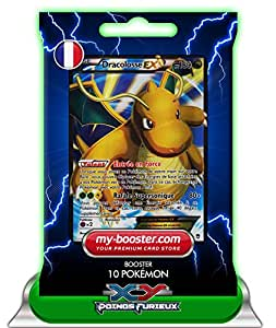 DRACOLOSSE EX Full Art 108/111 180PV XY03 Poings Furieux - Booster de 10 cartes Pokemon francaises my-booster