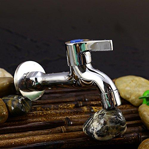 KPHY Voller Kupfer Waschmaschine Wasserhahn Lange Vollautomatische Wasser Mund Wischen Pool Wasserhahn Wc Verdickung Ein