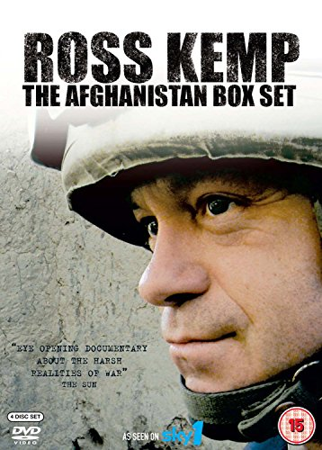 Ross Kemp: The Afghanistan Collection (4 DVDs)