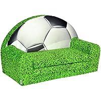 FORTISLINE Kindersofa Mini zum Aufklappen Football 4 W421_05 preisvergleich bei kinderzimmerdekopreise.eu