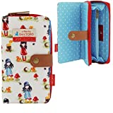 Gorjuss Pastel Print Toadstools Fold Out Wallet