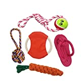 Puppy Dog Pet Chewing Ropes Toys, Teething Toys - Best Reviews Guide