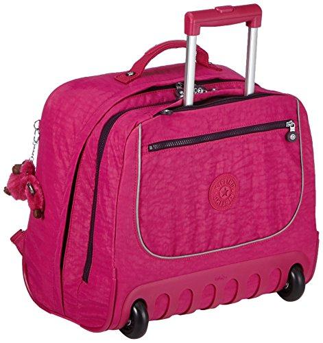 Kipling Clas Dallin Zaino con Rotelle, Pink Berry C (Rosa)