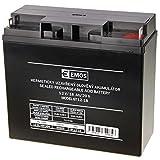 EMOS Wartungsfreier Bleiakkumulator 12 V, 18 Ah, 1 Stück, B9655