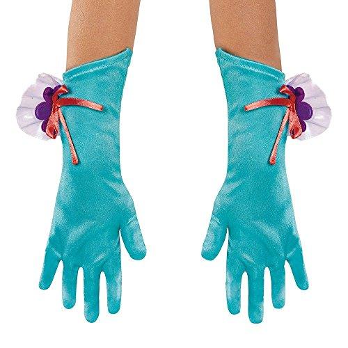 er Gloves up to Size 6 (Ariel Disney Kostüme Erwachsene)