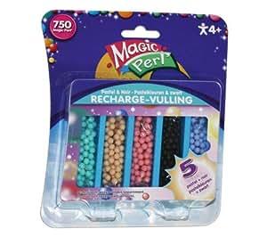 CRAYOLA Magic Perl - Recharge de perles pastel et noir