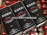 24x véritable Briquet Zippo 125ml Recharge Fluide Essence