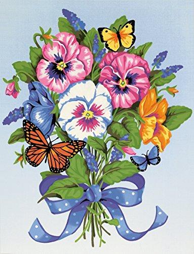 Pansy Bouquet (Maße paintworks Malen lernen Stiefmütterchen Bouquet-Set)
