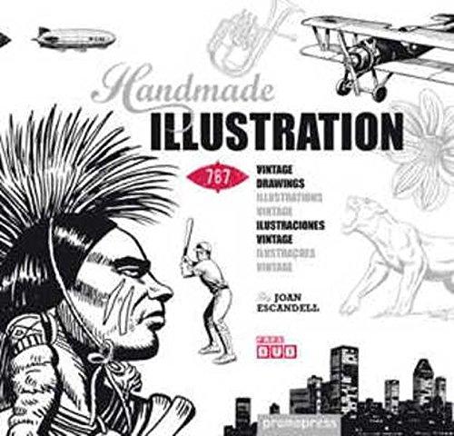 Handmade Illustration. 760 Ilustraciones Vintage