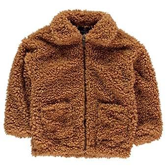 Kids Girls Firetrap Denim Jacket Junior Unlined Cotton New