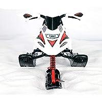 ZYSMC Trineo De Esquí, Motos De Nieve para Adultos Infantiles, Esquís Caseros, Motos De Nieve Invierno Esquí Al Aire Libre,Red
