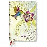 Paperblanks - Laurel Burch Kolibri - Kalender 2018 Mini Wochenüberblick Horizontal - deutschsprachige Ausgabe