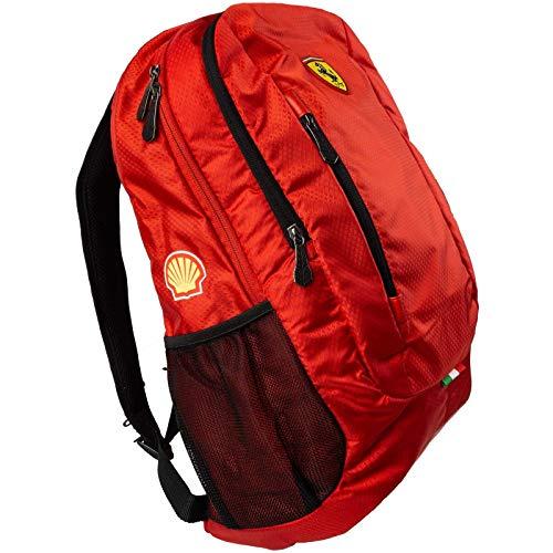 Ferrari Rucksack mit Laptopfach Tasche für Freizeit Reise Sport 47 x 31 x 20 cm