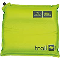Highlander Outdoor Products Trail Self Inflating Air Camping Travel Pillow Cushion Mat Stuff Sack Colour Green