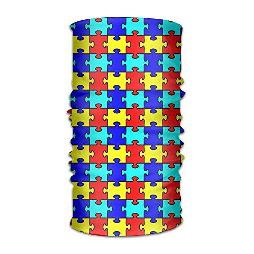 saw Puzzle Craft Headband Bandana,Outdoor Multifunctional Headwear,Magic Scarf for Men Women 19.7x9.85(inch)/50x25(cm) ()