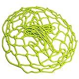 gdangel Sac Filet de Ballon Nouveau Filet De Basket-Ball Lumineux Fluorescent Nuit Filet De Basket-Ball Auto-éclairant Fluorescent-Vert 50