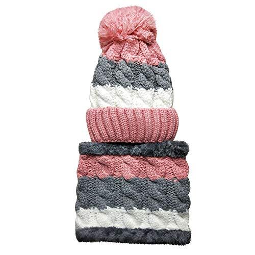 Frauen Hut, Quaan Lätzchen Warm Ohr SAMT Verdicken Flaum Ball Häkeln Winter Haarballen Kappen