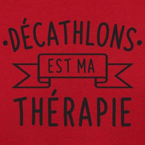 décathlons est ma thérapie - Femme T-Shirt - 14 couleur Rouge