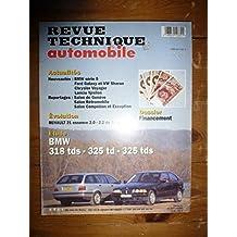 Revue Technique BMW Serie 3 a partir de 1991 318 TDS - 325 TD - 325 TDS - compact - touring - touring pack RTA0582 - Mars 1996