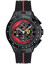 Scuderia Ferrari Race Day Mens Date Watch 0830077