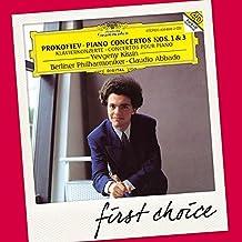 Klavierkonzerte 1+3 (First Choice)
