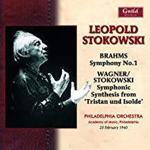 Brahms/Wagner:Symphony No.1 [Import allemand]