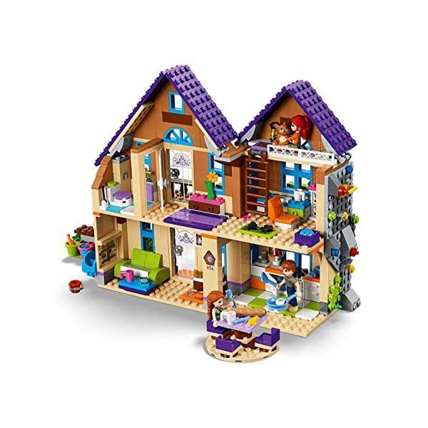 LEGO Friends LaVillettadiMia, 3Mini-doll, Figure del Coniglio e del Cavallo,Casa delle Bambole da Costruire, Giocattoli per Bambini, 41369 4 spesavip