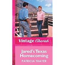 Jared's Texas Homecoming (Mills & Boon Vintage Cherish)