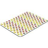 Pebbly 99-14RTCUP - Tabla multifunción de cristal, diseño Cup Cake, 30 x 40 cm