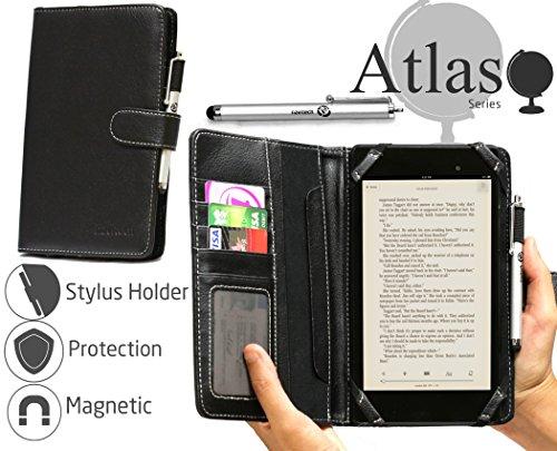 Navitech bookstylecase Tablet-Schutzhülle, Sanei G701, schwarz