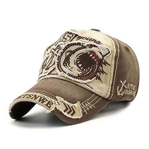 Klassischer Patch-Baseball-Kappe für Damen und Herren, Mode Casual Hut,beige