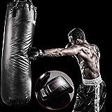 farmer-W Boxhandschuhe, Weiche Bequeme Leichte Dauerhafte Leder-PVC-Handschuhe Fitnessgeräte für Kampfsport Selbstverteidigung