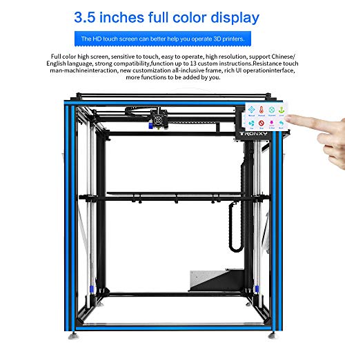 TRONXY X5SA-500 3D-Drucker-Bausatz, Auto-Nivellierung, Glühfadensensor, Druckwiederaufnahme, Vollmetallwürfel mit 3,5-Zoll-Touchscreen, Supergroßdruckgröße 500 * 500 * 600 - 6