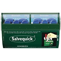 Cederroth Salvequick Plaster Dispenser, Inc. 2x35 Blue Detectable Plasters by Cederroth preisvergleich bei billige-tabletten.eu