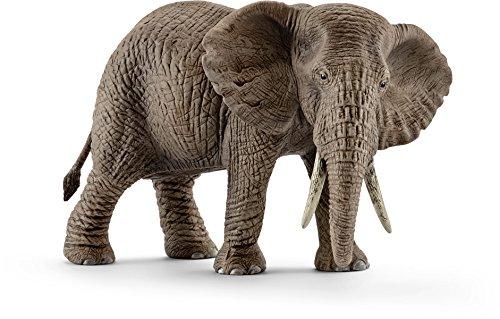 Schleich 14761 - Spielzeugfigur, Afrikanische Elefantenkuh